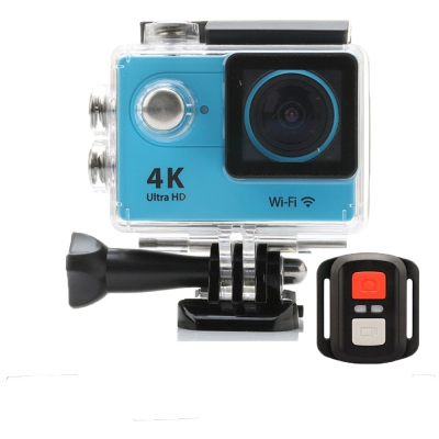 H9R EKEN Action Camera Malaysia 2 Inch LCD GOPRO Wifi Sport Cam Ultra 4K HD with Remote Control ( Pink )