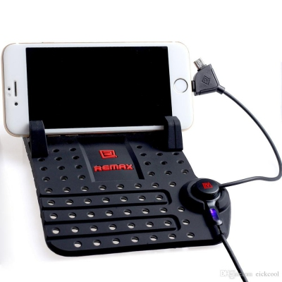 Phone Holder - Remax Car Holder Charging Port Malaysia | Handphone Holder Murah Harga Price