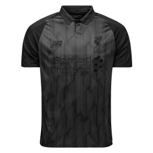 Jersey - Liverpool Blackout Kits Edition 2018/2019 Football Jersey Online Malaysia | Jersey Clothing Murah Harga Price