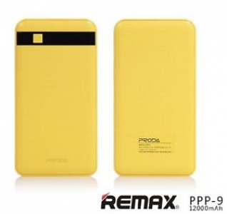 REMAX PPP-9 2.1a 12000mah Power Bank 2 USB Ultra Slim Universal