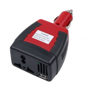150W Car Power Inverter Adapter USB Charger Power Supply 12V DC to 220V