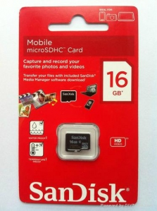 Flash Drive - SanDisk Memory Card 16GB | HDD Price Malaysia