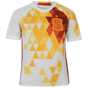 Spain Away Euro Jersey 2016  Kits Player Issue Adizero Addidas Jersi Sports