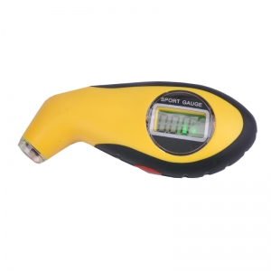 Digital Tire Air Pressure Gauge for Car and Motorcycle