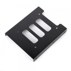 Hard Disk HDD SSD Bracket Holder 2.5 to 3.5 Mounting Free Screw