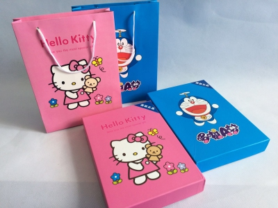 Hello Kitty Doraemon PowerBank Set Gift Set
