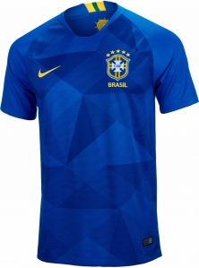 Jersey - Brazil Away Kit World Cup Official 2018 Jersey Football Jersey Online Malaysia | Jersey Clothing Murah Harga Price