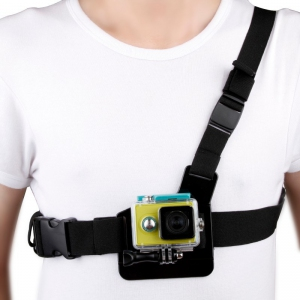 SJCAM Adjustable Elastic Body Chest Strap Shoulder Belt