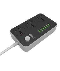 Adapter - LDNIO SC3604 3.4A Power Adapter Malaysia | Malaysia Power Socket Murah Harga Price