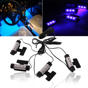 Car LED Automotive Interior Ambience Glow Light toyota honda myvi audi