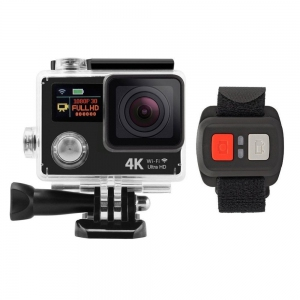 H8R EKEN Action Camera Malaysia 4K  HD Dual Screen GOPRO SJCAM   ( Silver )