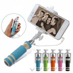 Mini Monopod Selfie Stick Foldable for Samsung Iphone Smart Phone
