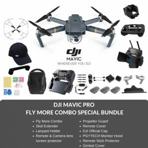 (Ready Stocks - Immediate Dispatch) DJI Mavic Pro Drone Fly More Combo Special Bundle + FREE GIFT