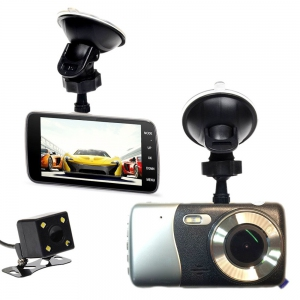 Car Camcorder - X600 Dual Lens Road Video Dash Camera DVR |  Car Camera Harga Price Malaysia