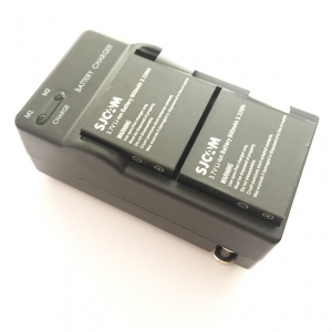 Original Action Camera Battery Dual Charger Dock SJCAM