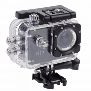 A7 HD Sport DV Diving 30M Waterproof Action Camera Malaysia SJCAM EKEN ( Gold )
