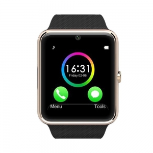 GT08 Touch Screen Sim Card Smart Watch Malaysia Phone