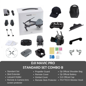 (Ready Stocks - Immediate Dispatch) DJI Mavic Pro Drone COMBO B Set with Accessories + FREE GIFT
