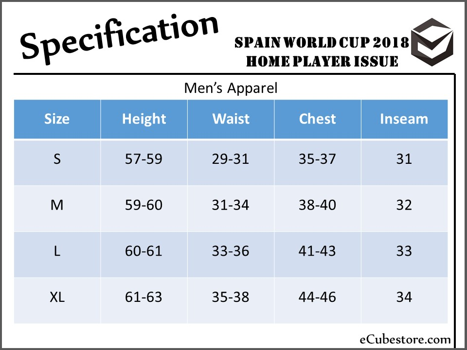 c6414fc05f2 Jersey - Spain Home Player Issue World Cup Official 2018 Football Jersey  Online Malaysia