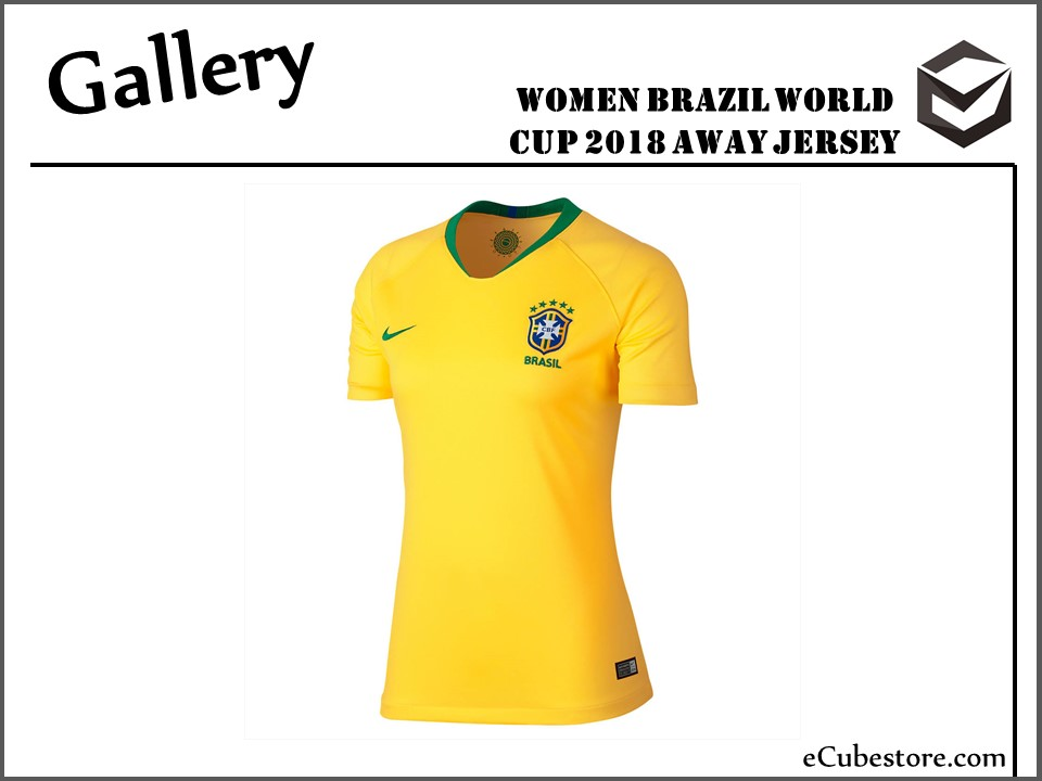 19fc36e27f6c Jersey - Women Brazil Home World Cup Official 2018 Jersey Football Jersey  Online Malaysia