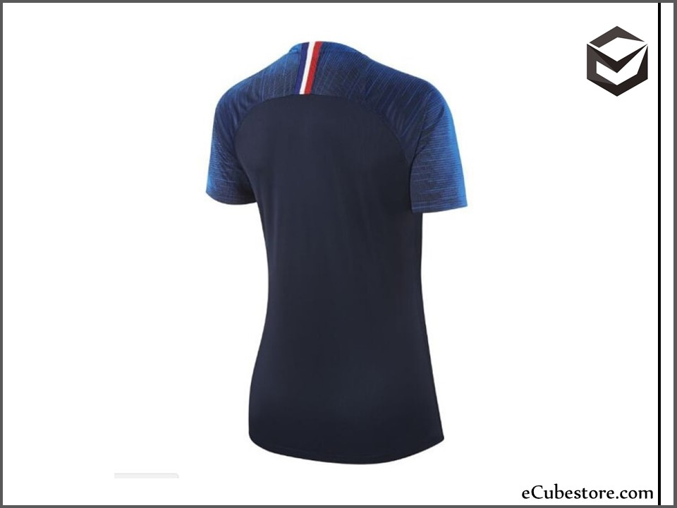 new concept 23609 68d6a Jersey - Women France Home World Cup Official 2018 Jersey Football Jersey  Online Malaysia   Jersey Clothing Murah Harga Price