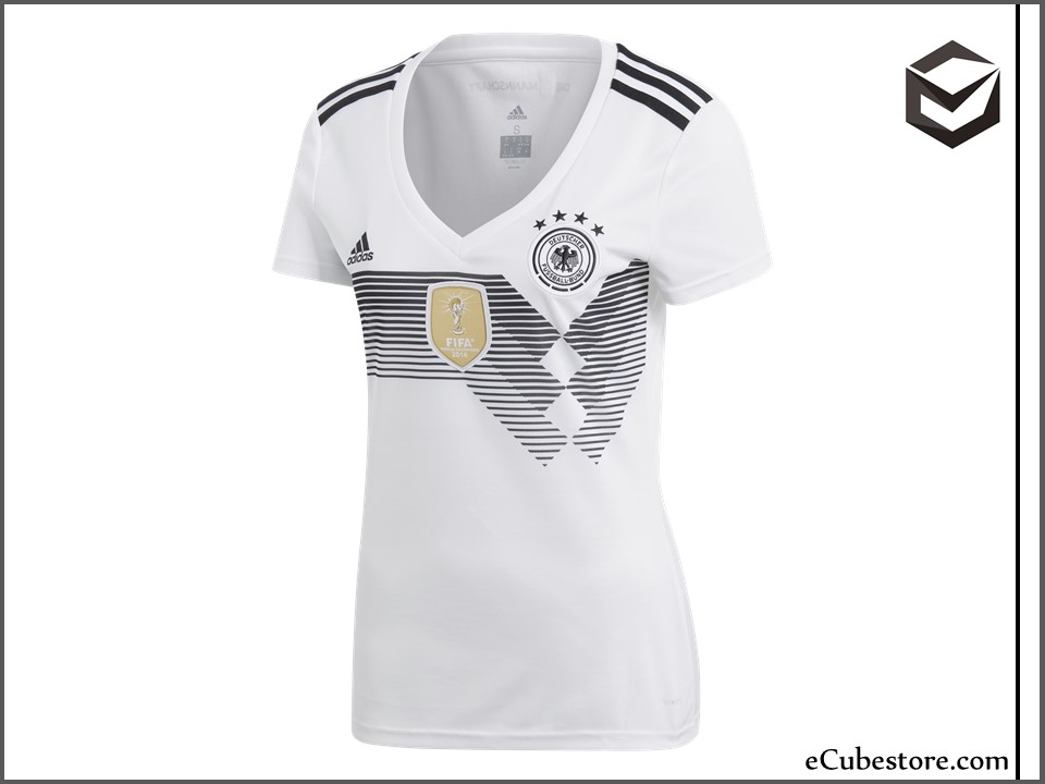 a48c42591ccb Jersey - Women Germany Home World Cup Official 2018 Jersey Football Jersey  Online Malaysia