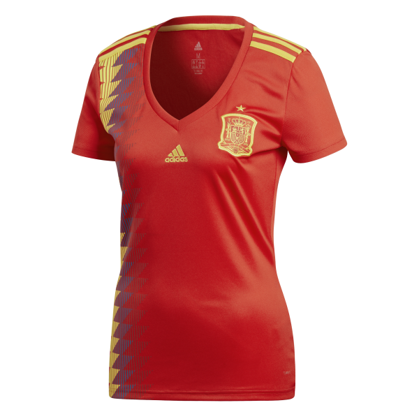 e1ef37a0e Jersey - Women Spain Home World Cup Official 2018 Jersey Football Jersey  Online Malaysia