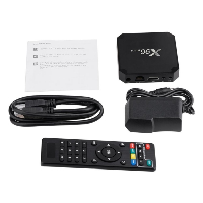 Android TV Box - Amlogic S905W X96 MINI Android TV Box | Android TV Box Harga Murah Price