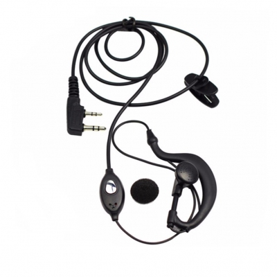 Walkie Talkie Accessories - Baofeng EP002 Hands Free Earpiece Earphone with Mic For Walkie Talkie Microphone