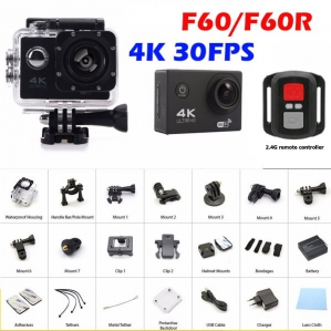 Action Camera - V3R F60R 4K Wifi Action Camera Malaysia | Action Camera Murah Harga Price | Action Camera Malaysia