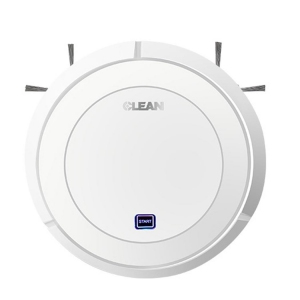 CLEAN SMART ROBOT Easy Dust Removal Mini Ultra-Thin Smart Life Rechargeable Smart Robot Vacuum Cleaner (With Suck Sweep)