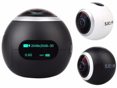 Action Camera - SJCAM SJ360 Fisheye Lens 360 Degree Panorama SJCAM Malaysia | Action Camera Murah Harga Price | Action Camera Malaysia