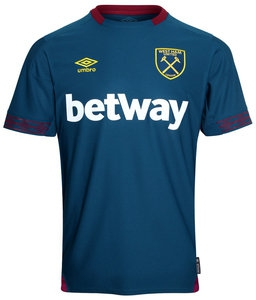 Jersey - West Ham Away Jersey 2018/2019 Football Jersey Online Malaysia | Jersey Clothing Murah Harga Price
