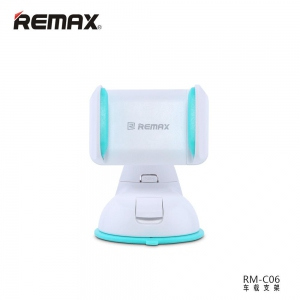 Phone Holder  - REMAX RM-C06 RMC06 Car Mount 360 Rotate Mobile Phone Car Holder | Handphone Car Holder
