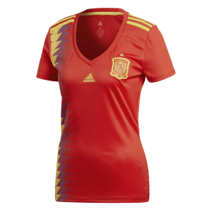 Jersey - Women Spain Home World Cup Official 2018 Jersey Football Jersey Online Malaysia | Jersey Clothing Murah Harga Price