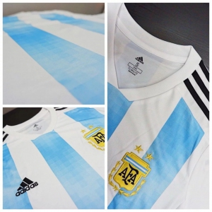 Jersey - Argentina Home Player Issue World Cup Official 2018 Football Jersey Online Malaysia | Jersey Clothing Murah Harga Price
