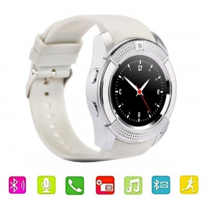 Smart Watch - V8 Smartwatch Bluetooth Touch Screen Smart Watch Malaysia | Smart Watch Murah Harga Price