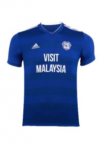 Jersey - Cardiff City Home Jersey 2018/2019 Football Jersey Online Malaysia | Jersey Clothing Murah Harga Price