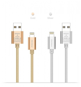 Cable - Phone Cable Murah Harga Price |PINENG PN305 Gold/Silver Charging Cable Data Cable | Kabel USB Fast Charging