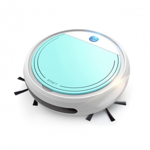 Rechargeable Smart Vacuum Cleaners Robot 4 in 1 USB Auto Smart Sweeping Dry Wet Mop UV Sterilizer