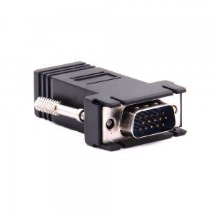 VGA Adapter - VGA DB15 to LAN RJ45 Video Extender Adapter Converter | VGA Cable