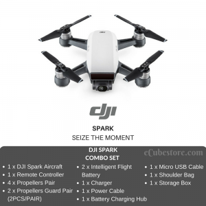 (Pre Order) Drone - DJI SPARK FLY MORE COMBO SET Selfie Drone Malaysia | Quadcopter Malaysia Murah Harga Price